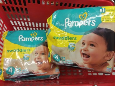 pampers diapers at shoprite