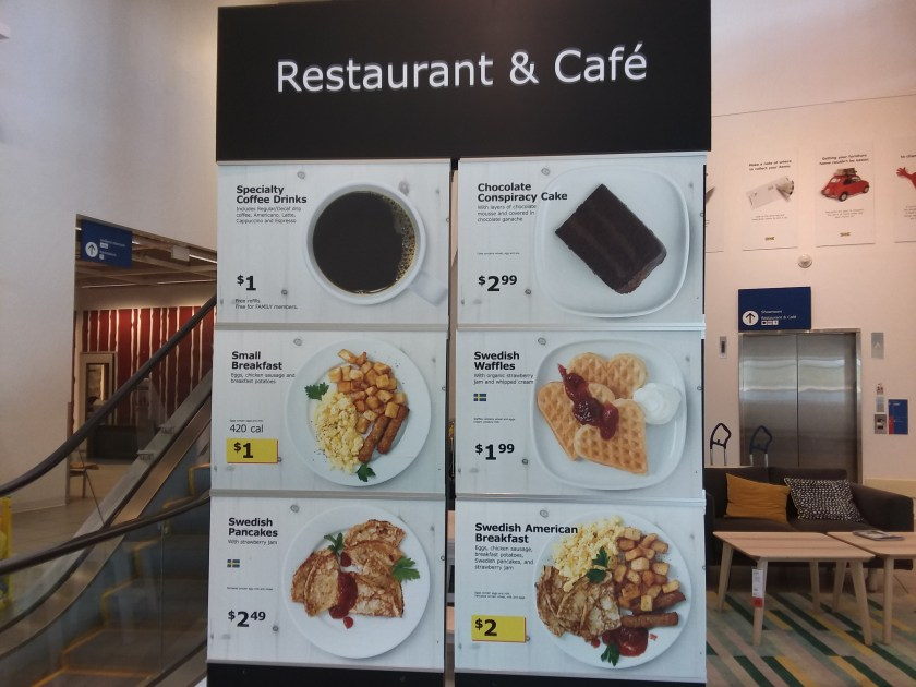 Restaurant & Cafe at Ikea Store