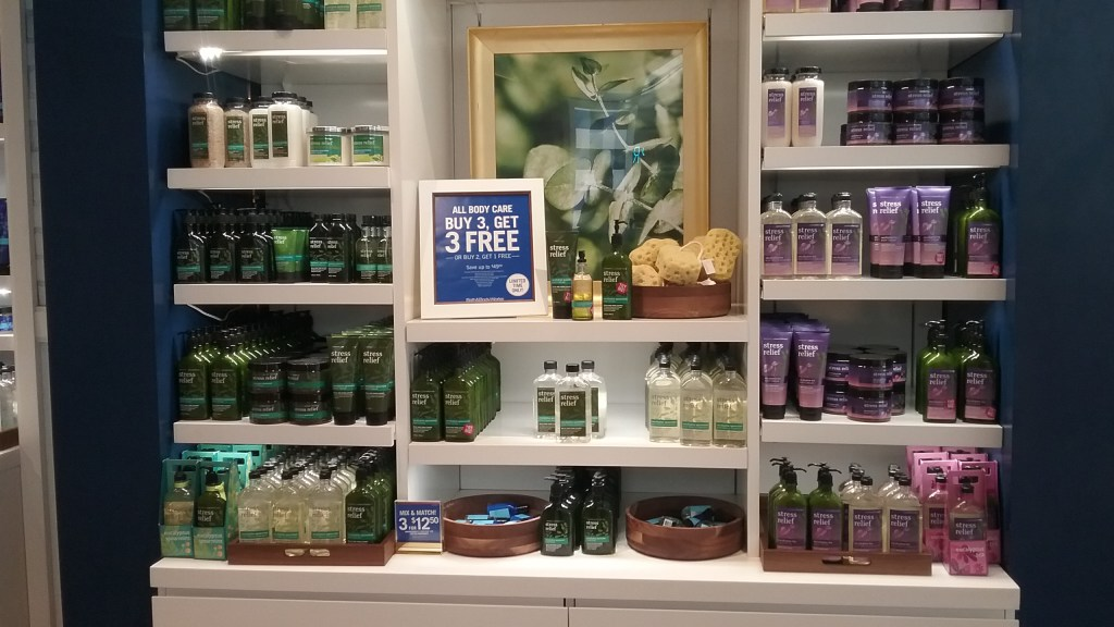Bath & Body Works Aromatherapy Collection