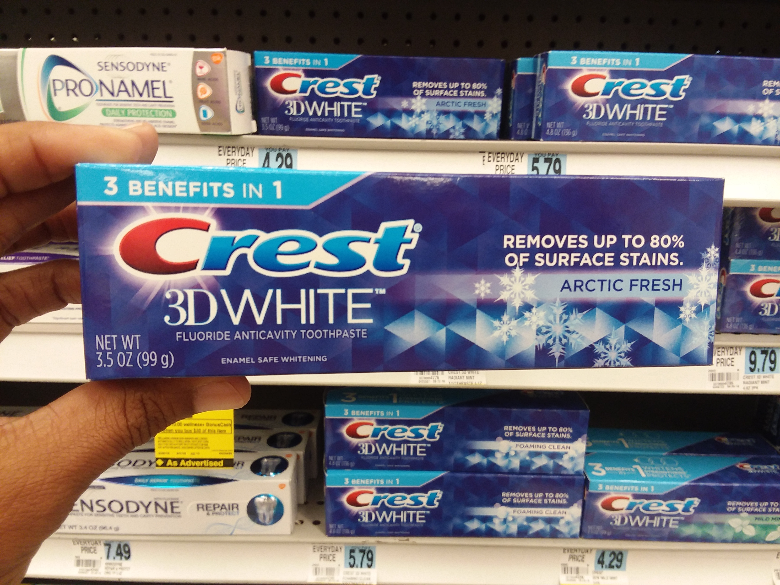 Crest 3D White at Rite Aid