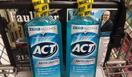 Act mouthwash at Shoprite