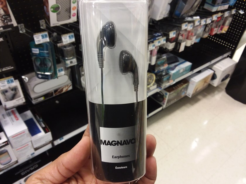 Magnavox earbuds at Rite Aid