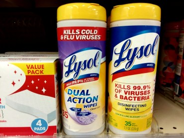 Lysol Wipes at Walgreens
