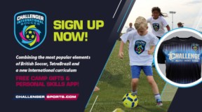 Register now for Challenger's International Soccer Camp + Get Free Camp Gifts!⚽