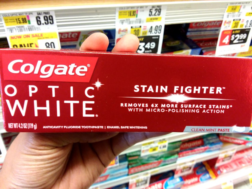 Colgate Optic White at Shoprite - Philly Coupon Mom