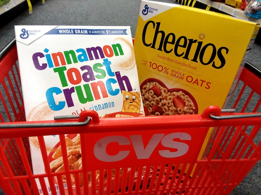 General Mills Cereal at CVS