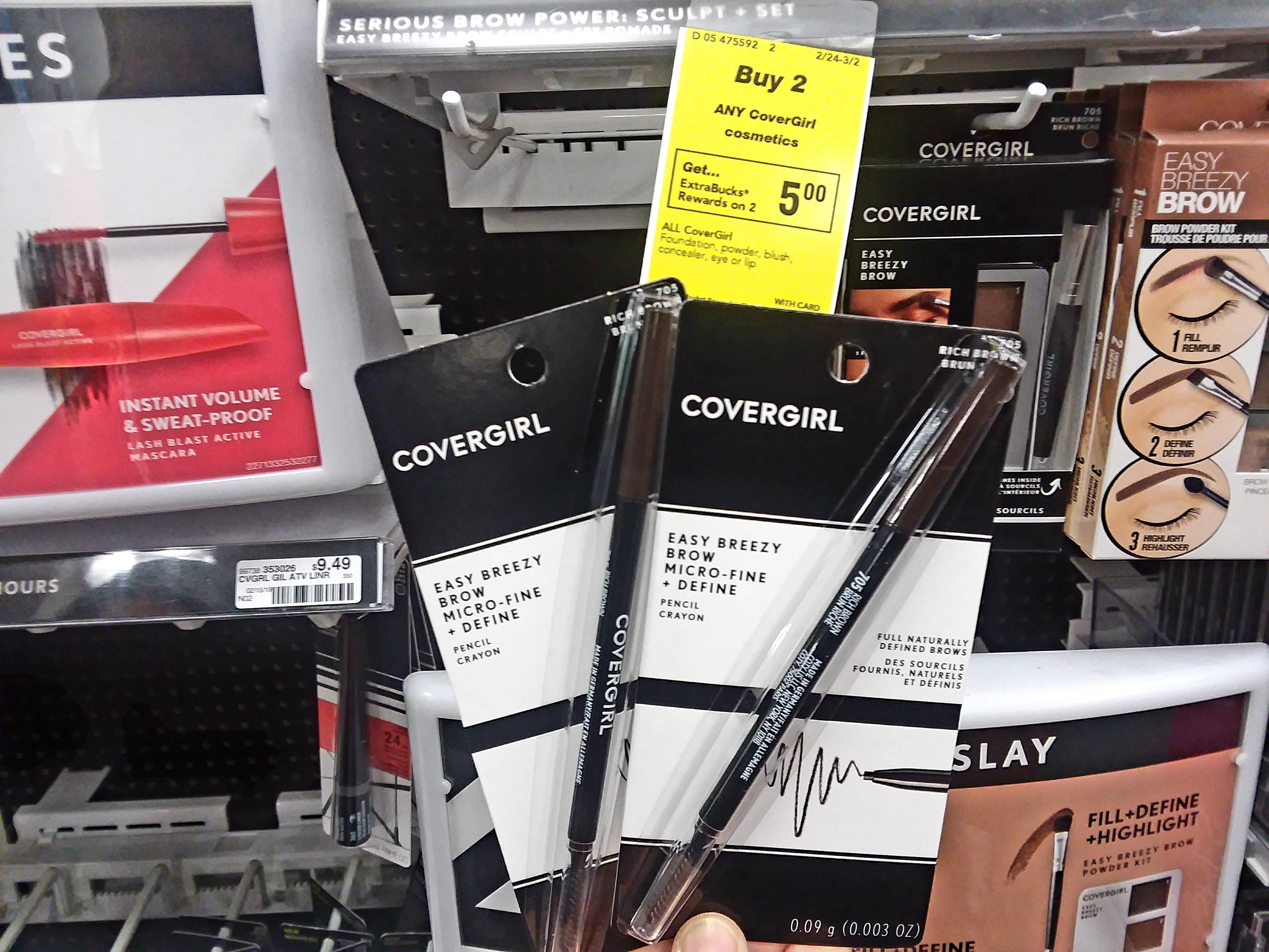 Covergirl Easy Breezy Eye & Brow Pencil at CVS - Philly Coupon Mom