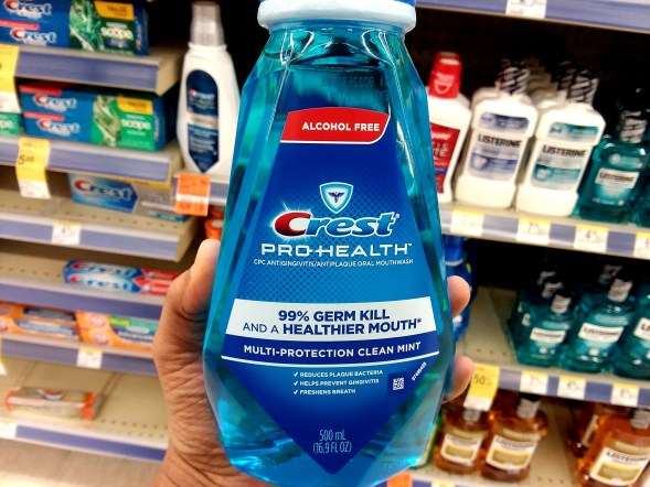 Crest Mouthwash at Walgreens - Philly Coupon Mom
