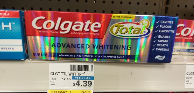 colgate total advanced whitening at Cvs - Philly Coupon Mom