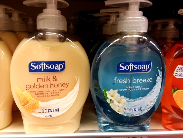 Softsoap hand soap at Shoprite