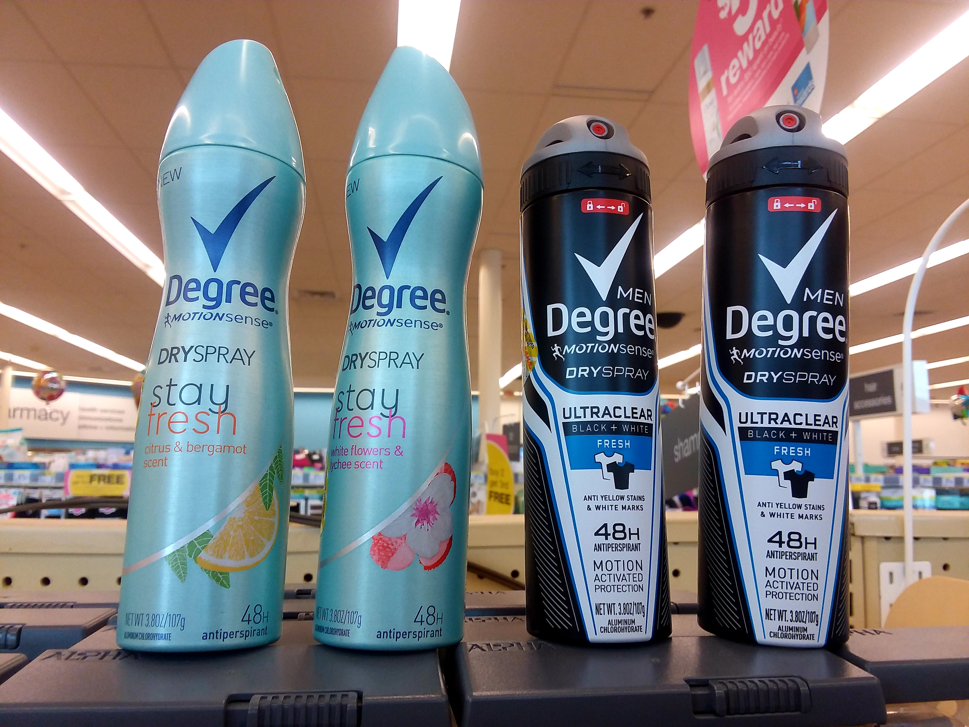 Degree Deodorant at Walgreens - Philly Coupon Mom
