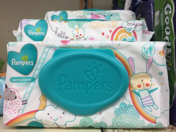 Pampers Wipes at Shoprite