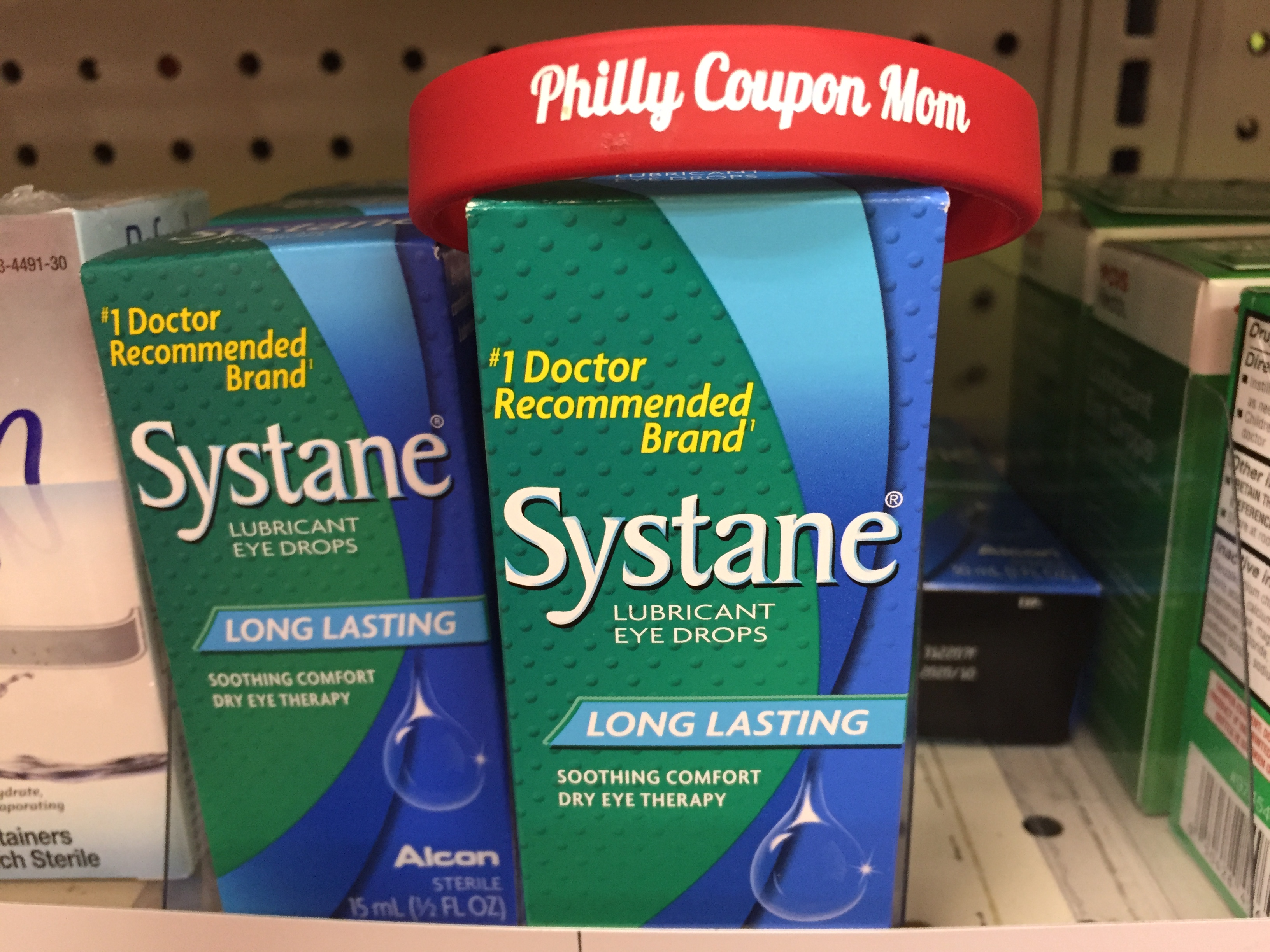 graphic relating to Zaditor Coupon Printable identify Systane Eye Drops, Simply just $3.99 at CVS, finishes 5/4! ~ Philly