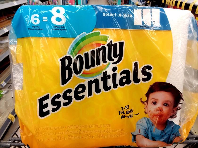 Bounty Essentials Towels at Walgreens