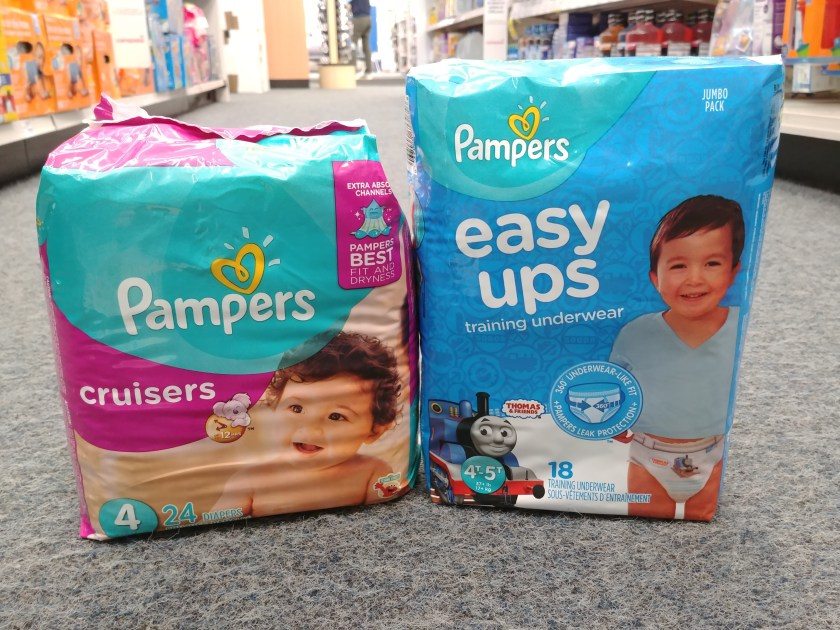 Pampers Diapers at CVS
