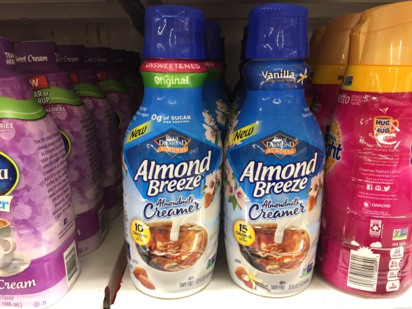 Almond Breeze Coffee Creamer at Shoprite