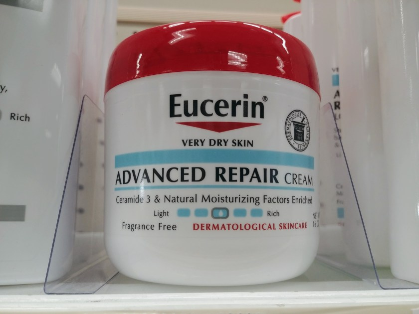 Eucerin Advanced Repair Cream at CVS