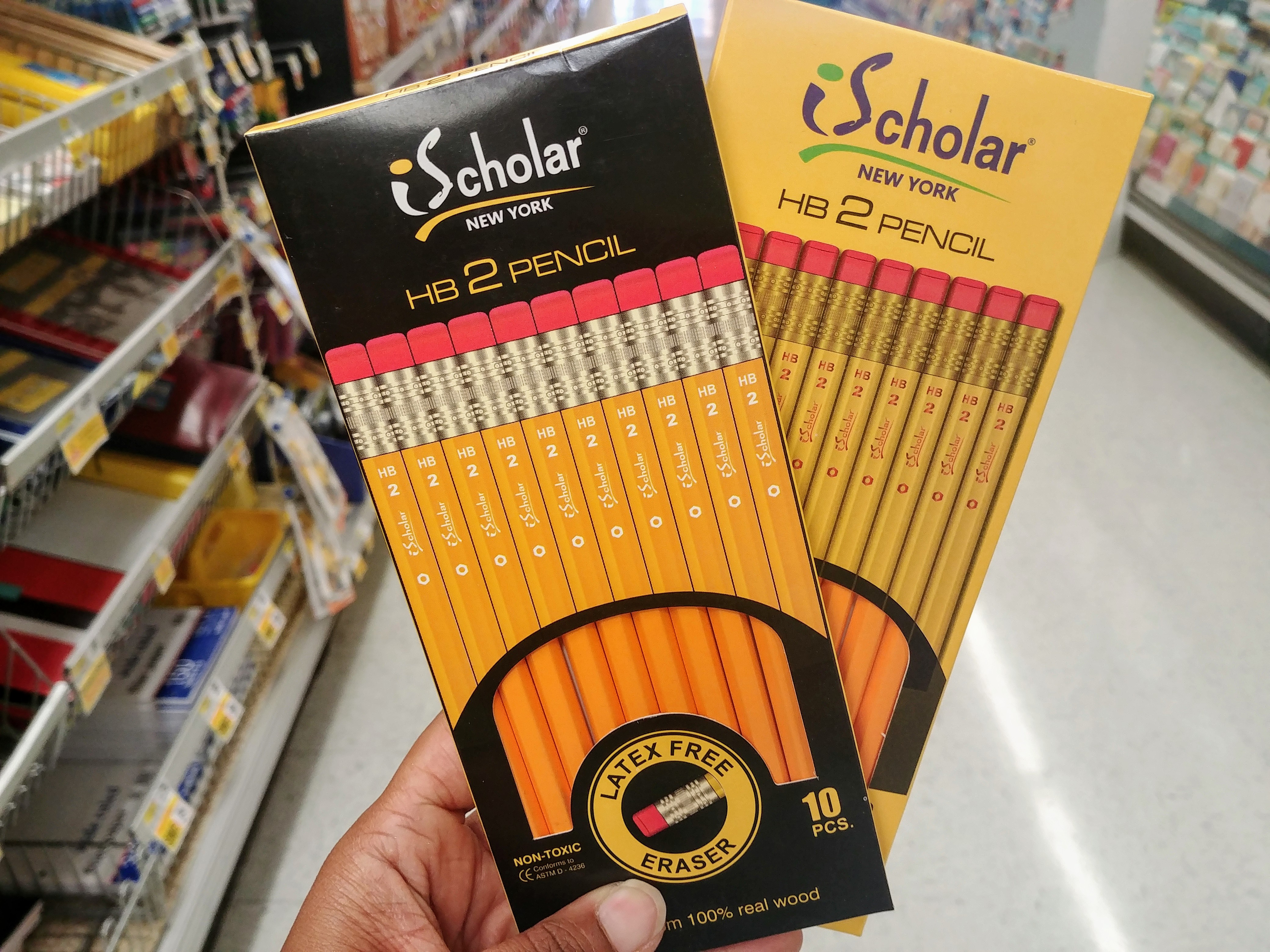 iScholar Pencils at Shoprite