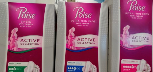 Poise Active Collection at Walgreens