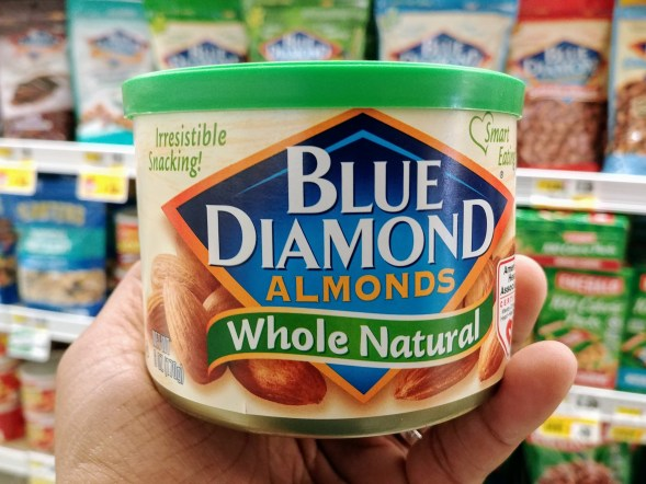 Blue Diamond Almonds at Shoprite