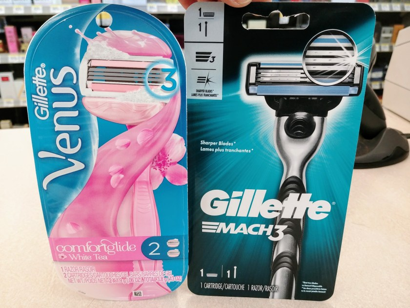 Gillette Razors at Walgreens