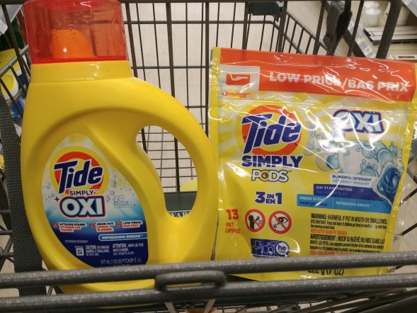 Tide Simply Clean at Walgreens