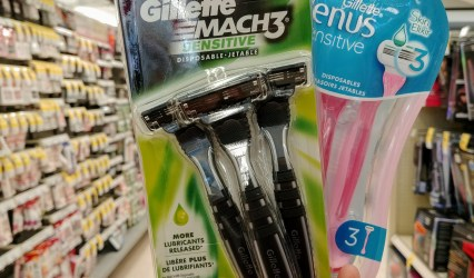 Gillette Disposable Razors at Walgreens