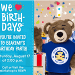 RSVP to Bearemy's Birthday Party CeleBEARation!