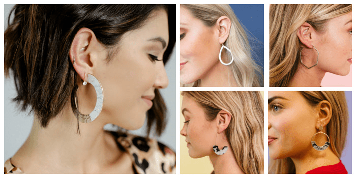 hoop earrings at cents of style