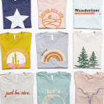 TWO of our Popular Graphic Tees for ONLY $30! + FREE Shipping w/code: HOTTEES!