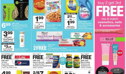 Walgreens Ad - March 22 - 28, 2020