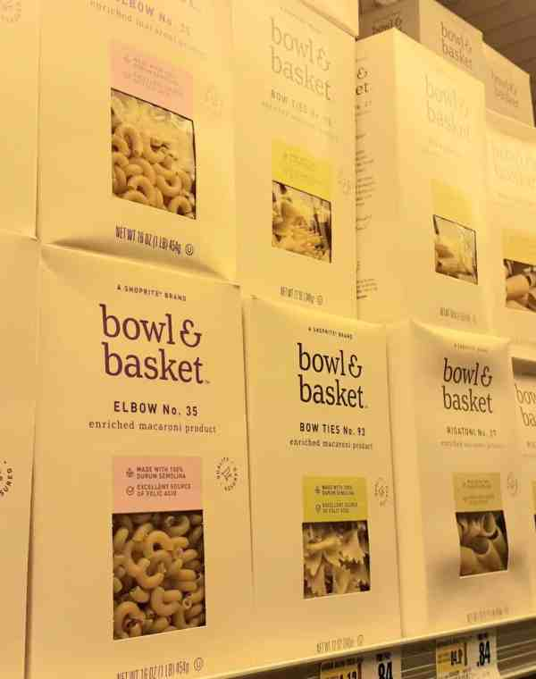 Bowl & Basket Pasta at Shoprite