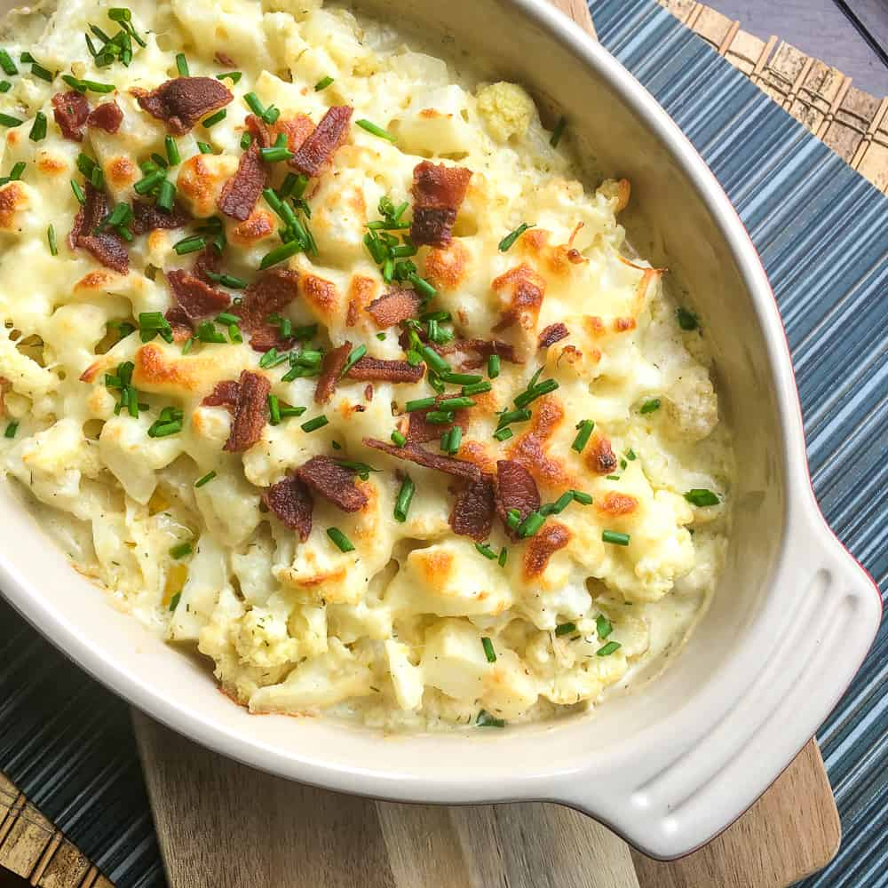 Loaded Cauliflower Au Gratin Recipe
