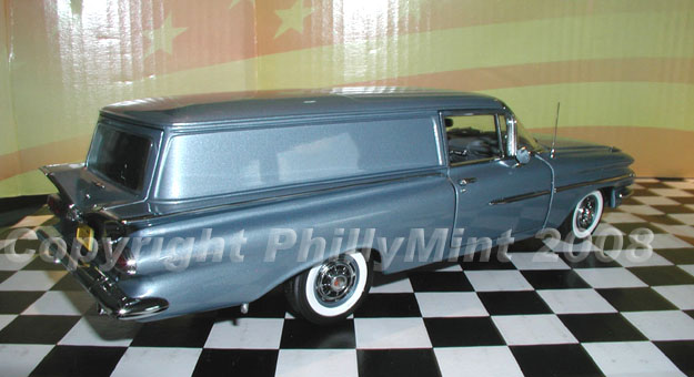 Phillymint Diecast West Coast 1959 Chevrolet Sedan