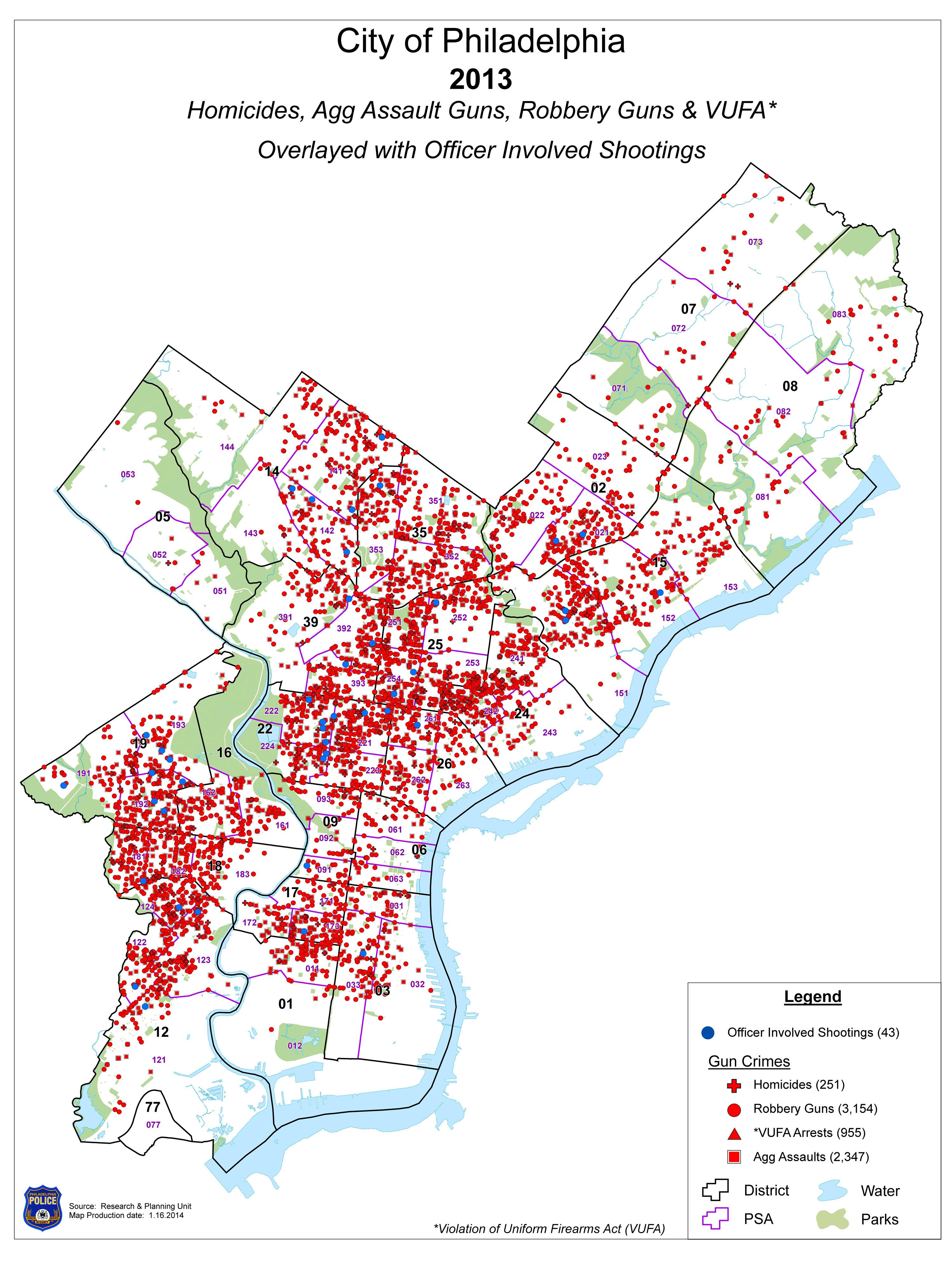 Philadelphia Crime Map Afp Cv