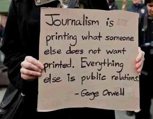 Orwell and jaournalism