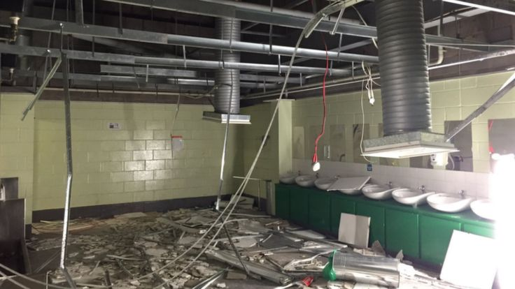 Celtic Toilets vandalised