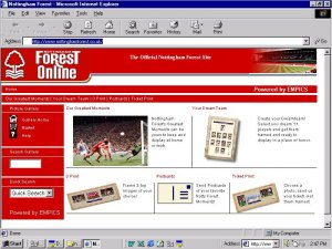 Nottingham Forest Print Sales Module