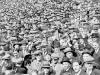 Arsenal football fans on the Highbury terraces 1933