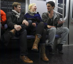 Subway Conversation