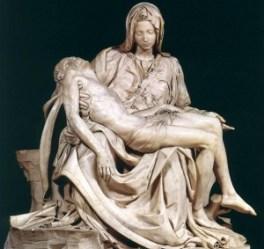 La piétà de MIQUEL ANGE (1498 -1499) - Basilique saint Pierre de ROME