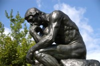 Statue of The Thinker.