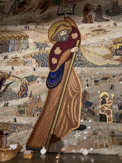 mosaïque de saint-Jacques Fourvière