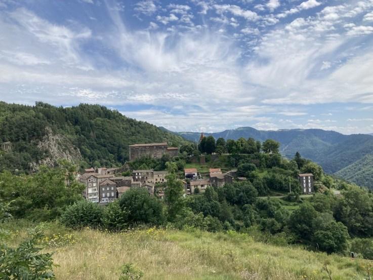 chemin de Compostelle Saint-Privat d'Allier