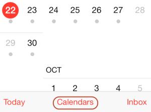 iphone calendar 1