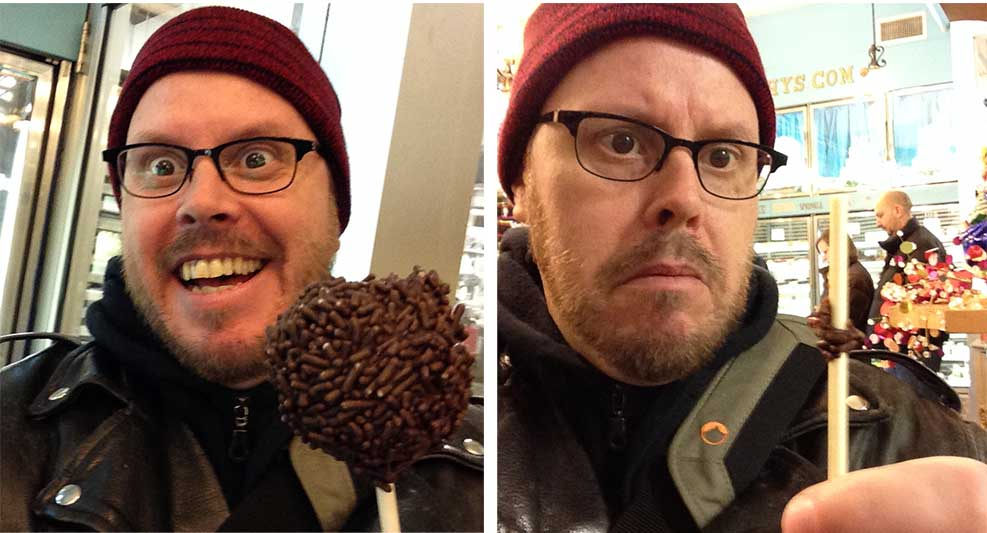 I had a cake pop, and then I didn't. Such sadness.