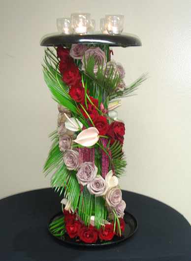 Contemporary Spiral Centerpiece