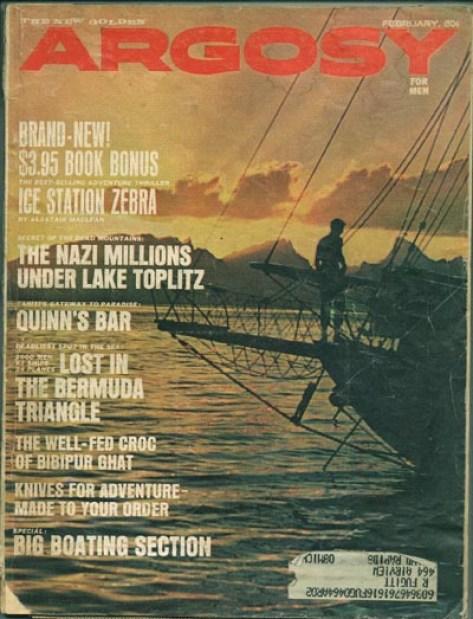 Resultado de imagen para Vincent Gaddis bermuda triangle magazine Argosy