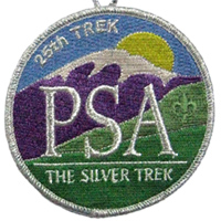 silver trek patch