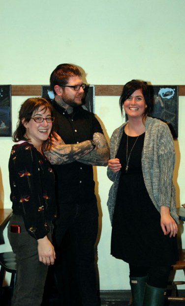 Nancy Trachtenberg, Andrew Johnson-Lally, Kat Moran